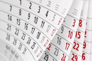 calendrier - vos dates de formation seront les notres