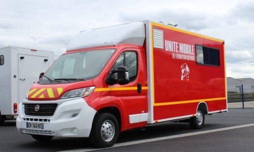 Premier témoin incendie<br>en unité mobile