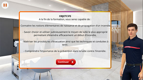 e-learning formation incendie